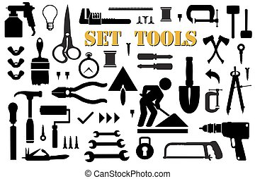 Set retro building tools