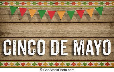 Cinco de Mayo holiday concept - Cinco de Mayo, American...