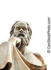 atenas,  socrates, estatua