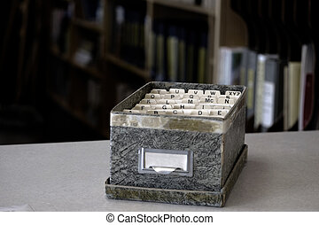 Index Cards for Business School Home Organization