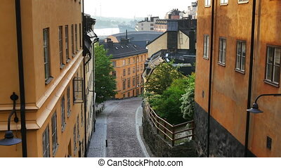Stockholm, Sweden - Sodermalm district of Stockholm, Sweden