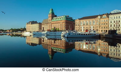 Stockholm City - Stockholm early summer morning