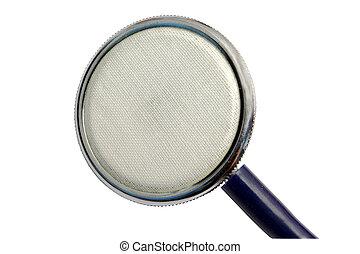 phonendoscope - The image of phonendoscope under the white...