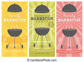 Cookout vector clip art eps images 916 cookout clipart vector illustrations available to search - Barbecue ontwerp ...