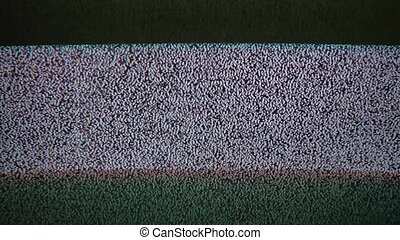noise interference bad signal screen tv the television -...