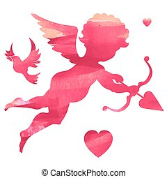 Happy Valentines Day, vector illustration