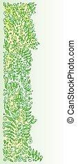 Refined Floral vignette In Color - Refined floral vignette....