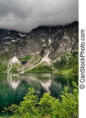 Morskie Oko lake in Poland