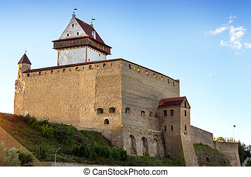 Narva Herman castle, Estonia - Narva fortress - Herman...