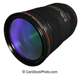 Professional zoom lens