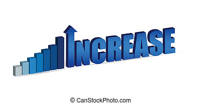 Increase text and chart - Increase business chart and word...