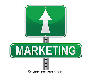 Marketing Strategy sign vector file available