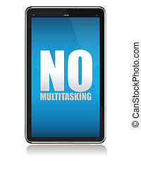 Apple iPad tablet no multitasking - tablet with no...