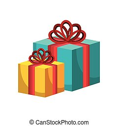happy merry christmas gift card vector illustration design