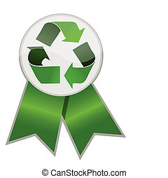 Recycle Ribbon, Protect the World from pollution