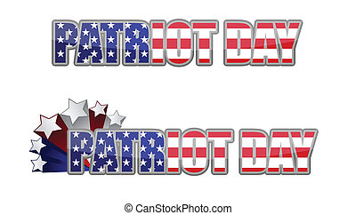 Patriot Day september 11 - Patriot Day logo a 9-11-2001...