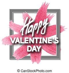 Happy Valentine's Day Unusual Fun Congratulation Card with...