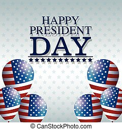 happy president day balloons creative decorative