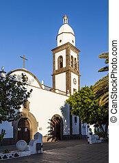 church San Gines Obispo in Arrecife - beautiful church San...