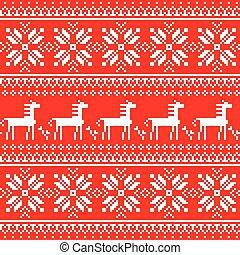 Ukrainian or Belarusian folk art embroidery pattern with...