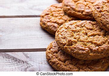 homemade brown cookies
