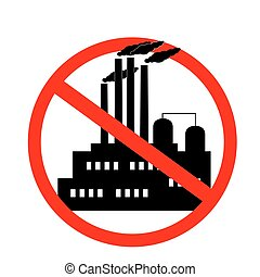icon against the pollution of the environment