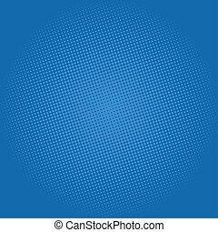Dots on Dark Blue Background, Pop Art Background - Pop Art...