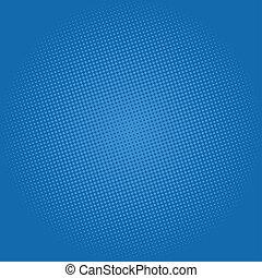 Dots on Dark Blue Background, Pop Art Background - Pop Art...