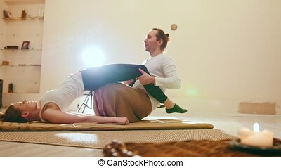 Thai medical massage - traditional therapy in thailand -...