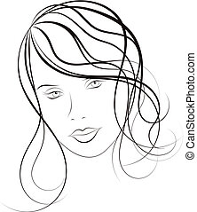 Image of face girl