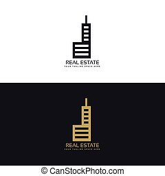 stylish real estate logo design for your company