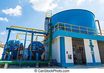 Water treatment process and Water treatment plants of the...