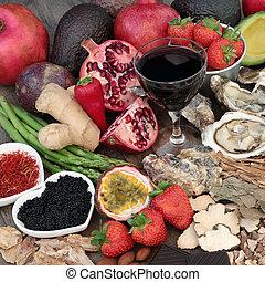 Aphrodisiac Food and Drink - Aphrodisiac food and drink...