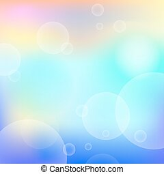 abstract bright background with circle light effect