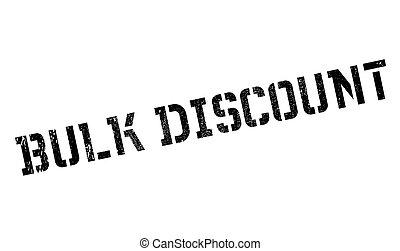 Bulk discount stamp