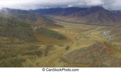 Hills in the Altai - Hills in the Russian Altai