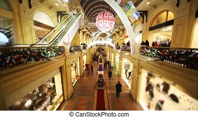 Main Department Store with two floors and buyers - Main...
