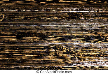 Old natural wooden background - Old natural wooden shabby...