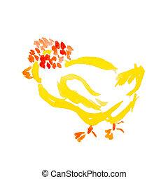 小雞, 復活節, 被隔离