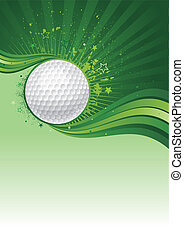 golf background - golf sport design element