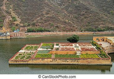 Kesar Kyari Bagh is garden on Maota Lake, India - The Kesar...