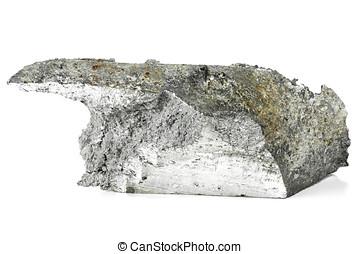 magnesium isolated on white background
