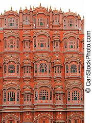 palace Hawa Mahal in Jaipur, India