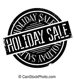 Holiday Sale rubber stamp