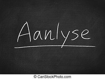 analyse
