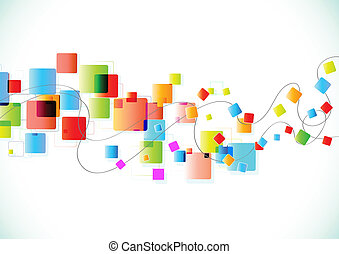 abstract party Background - Vector illustration of abstract...