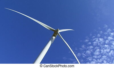 Wind turbine producing clean renewable energy