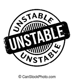 Unstable rubber stamp. Grunge design with dust scratches....