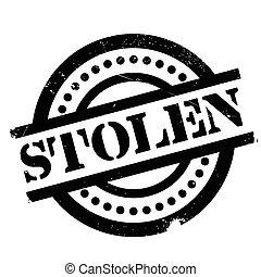 Stolen rubber stamp. Grunge design with dust scratches....