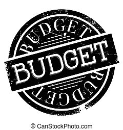 Budget rubber stamp